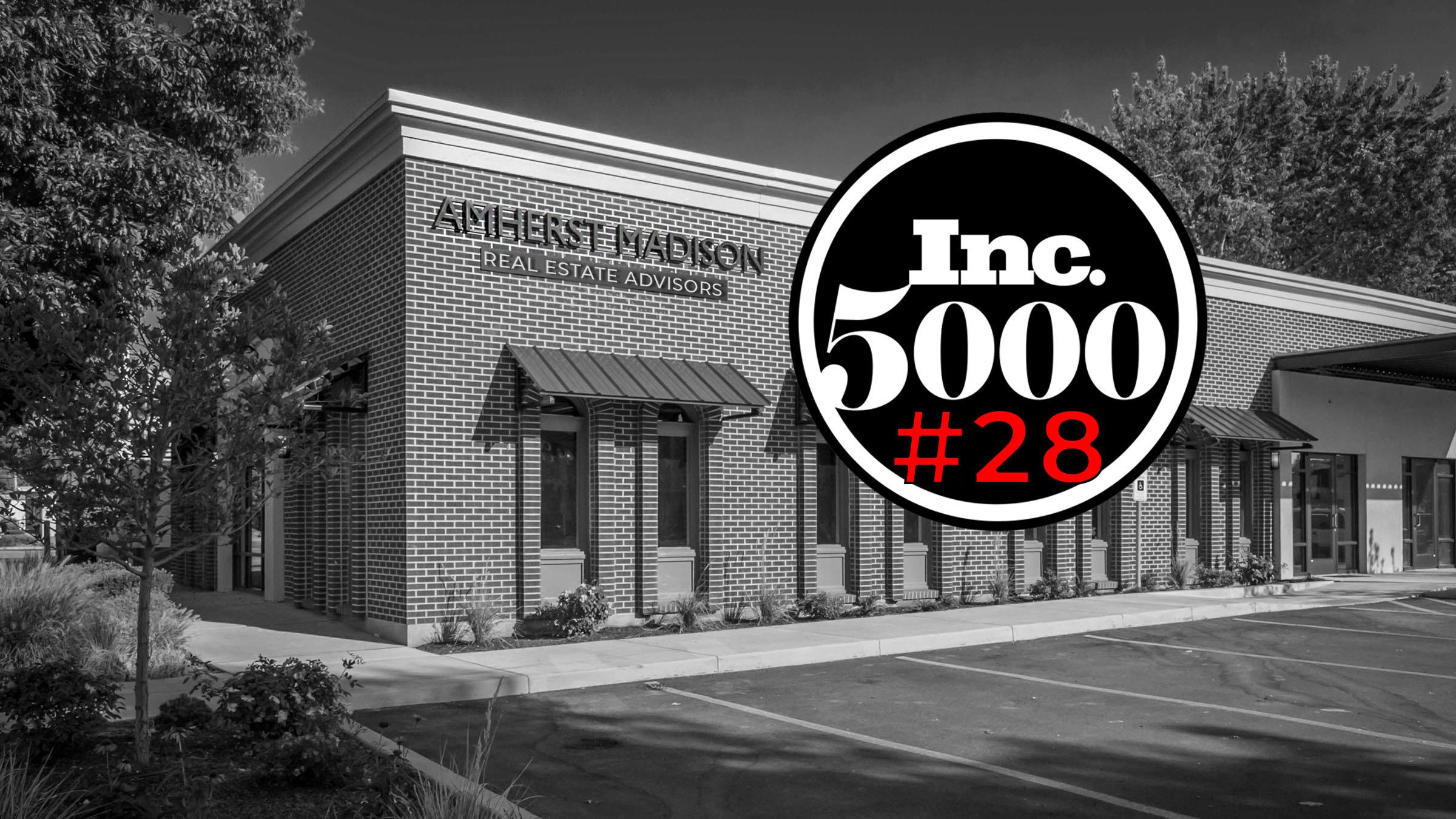 Amherst Madison Ranks No. 28 on the 2019 Inc. 5000