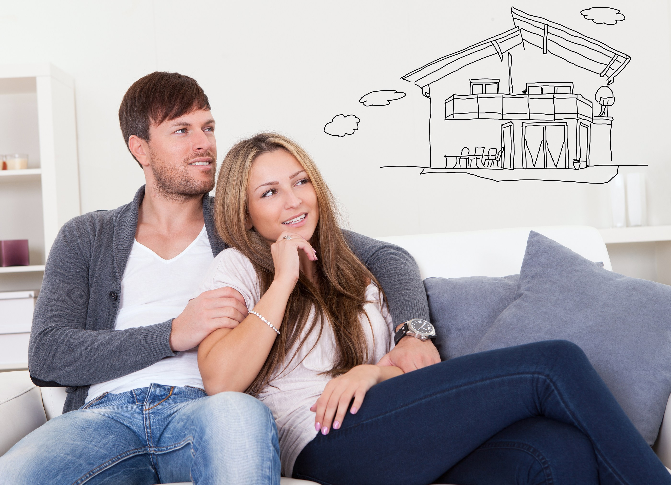 couple thinking of new home