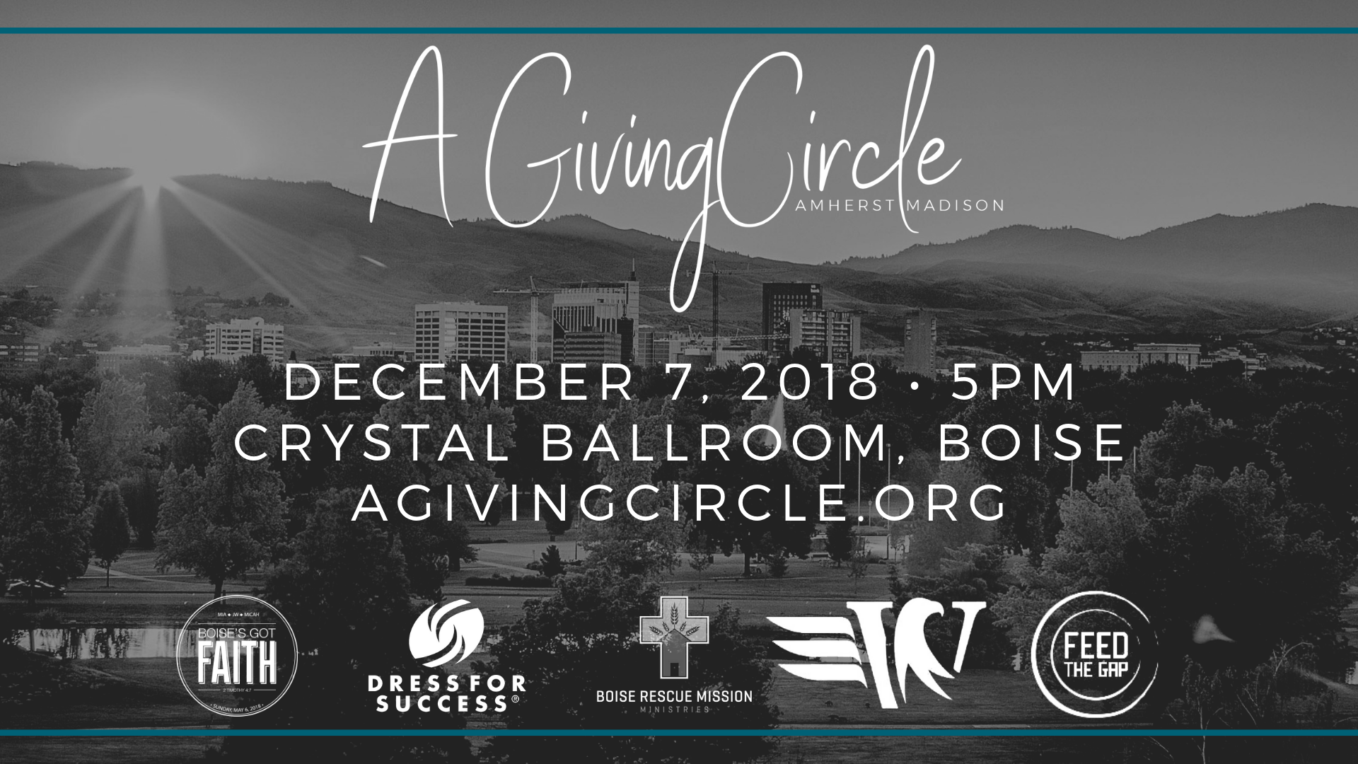 A Giving Circle Charity Event Supporting Five Local Nonprofits in Idaho