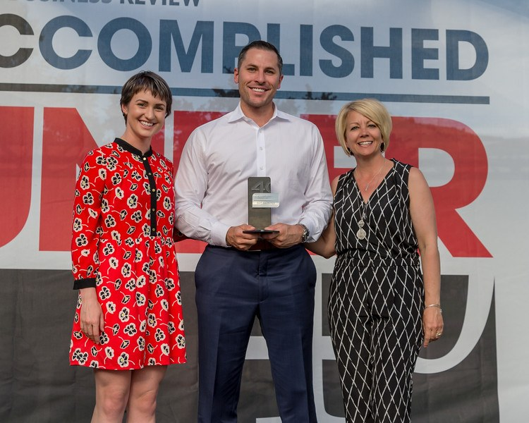 """Matt Bauscher Awarded """"Accomplished Under 40"""" by the Idaho Business Review"""
