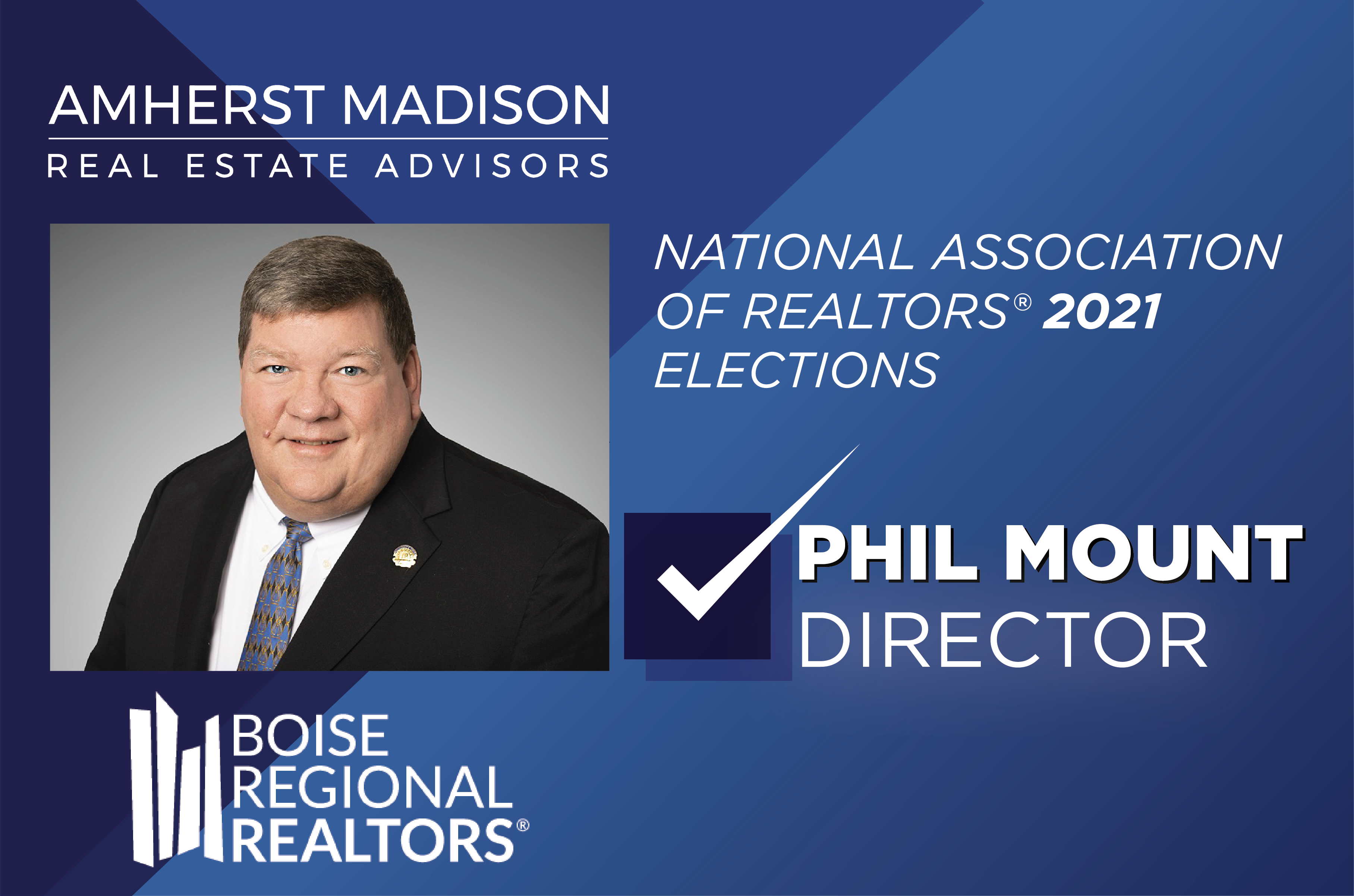 Regional Association of Realtors 2021 Elections | Phil Mount
