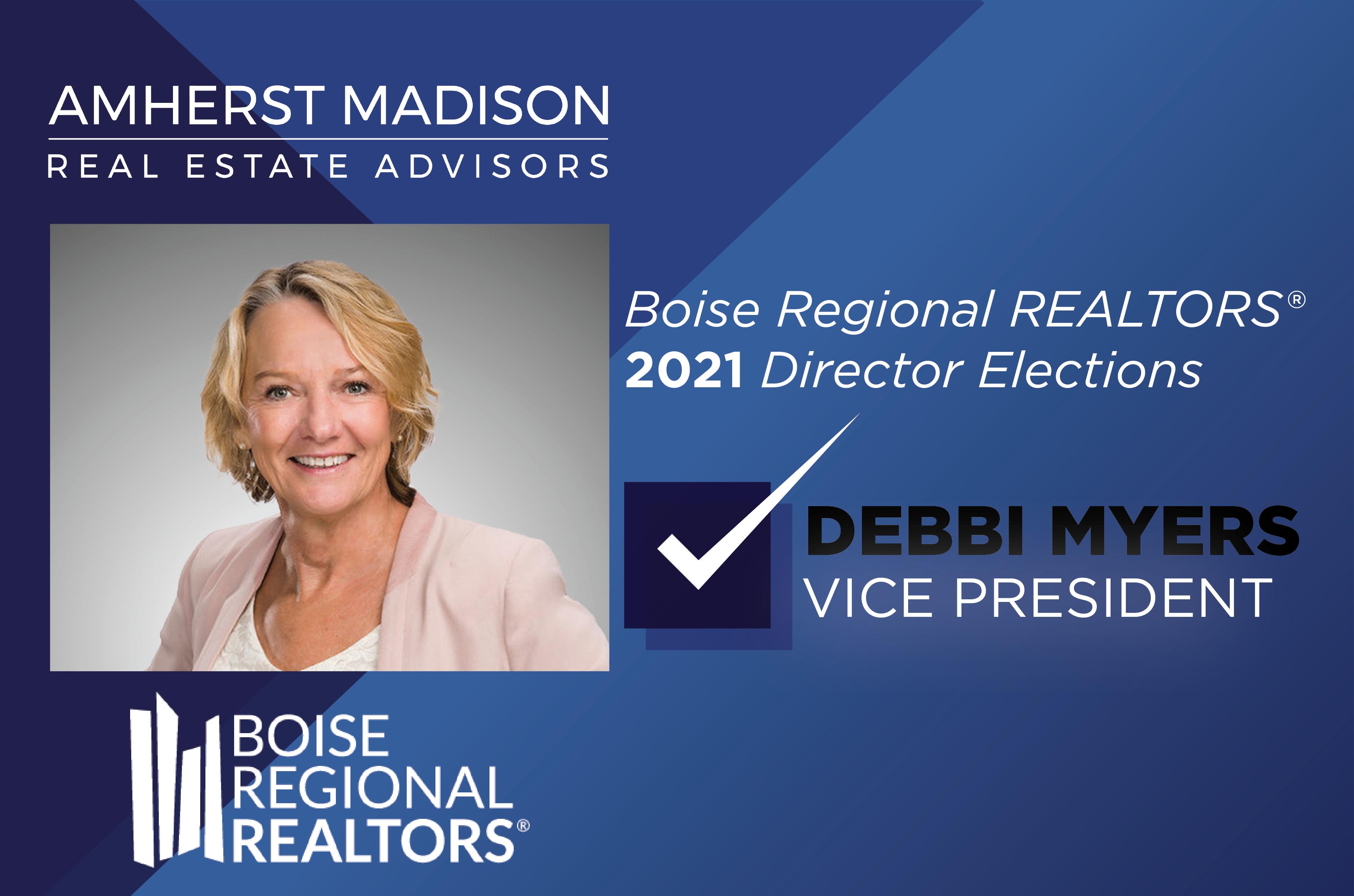 Boise Regional Realtor Elections 2021 Director Elections | Debbi Myers