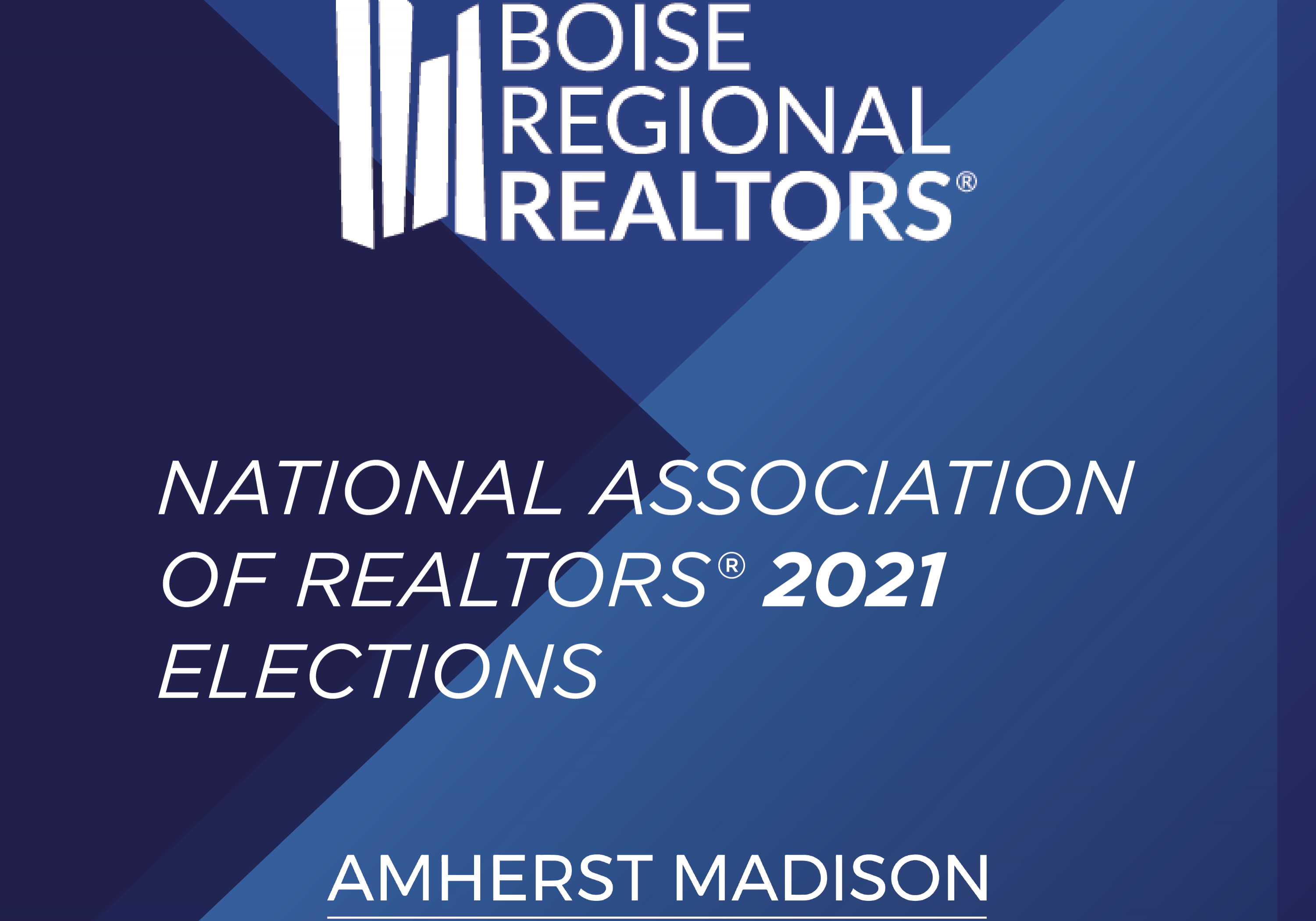 Boise Regional Realtor Elections 2021 | AM Candidates