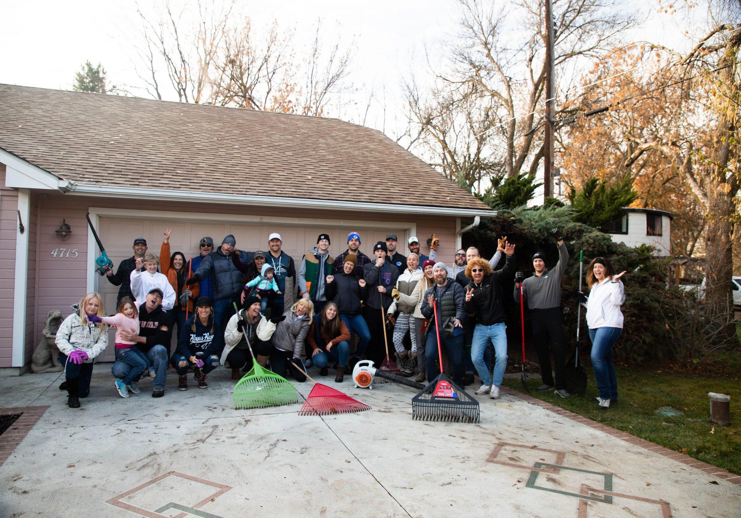 35th Annual Rake Up Boise Event