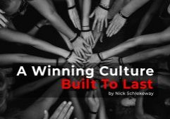 A Winning Culture – Are You Built To Last?